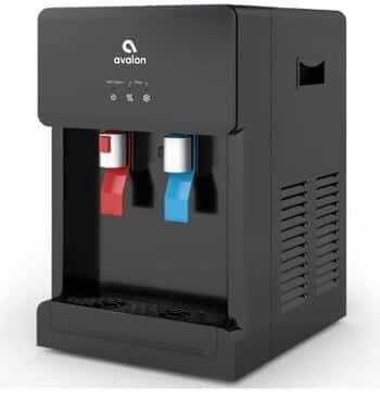 avalon countertop self cleaning touchless bottleless cooler dispenser hot & cold