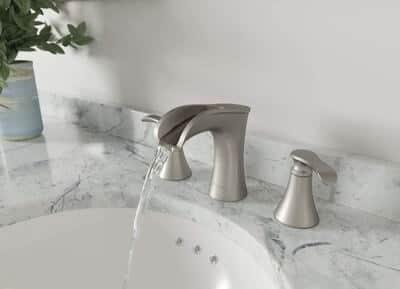 Pfister LF-049-JDGS Jaida Waterfall Widespread Bathroom Faucet